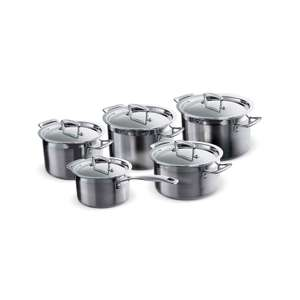 Le Creuset 3-Ply Stainless Steel Cookware Set, 5 Pieces £299.99 at Amazon