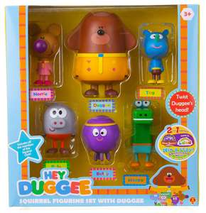 Hey Duggee 1870R Squirrel Figurine Set with Duggee, Multi £12.35 at Amazon Prime / £16.84 Non Prime
