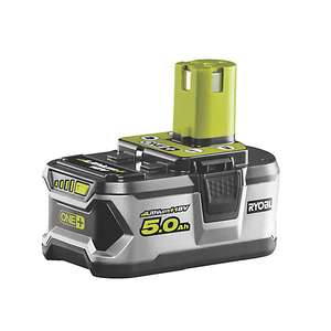 Ryobi ONE+ 18V 5.0Ah Battery RB18L50 - £60 (20% discount applied at checkout) Nationwide at B&Q FREE DELIVERY