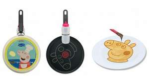 Tefal Peppa Pig 25cm Pancake Pan with Squeezy Bottle 15% off - £13.60 @ Asda
