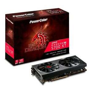 PowerColor Radeon Red Dragon RX 5700XT 8GB Graphics Card £349 at ebuyer_uk_ltd eBay