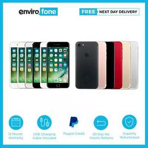Rose Gold Refurbished IPhone 7 32GB Vodafone Good Condition £139.20 With Code @ envirofoneshop Ebay