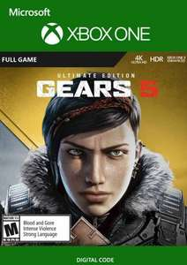 Gears 5 Ultimate Edition (includes gears 4) Xbox One / PC £29.99 at CDKeys