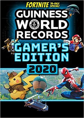 Guinness World Records Gamer's Edition 2020 Paperback £4.20 @ Amazon (+£2.99 Non-prime)
