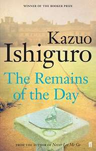 The Remains of the Day (1989 Booker Prize winner) Kindle Edition £1.19 at Amazon
