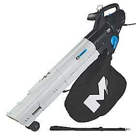 MAC ALLISTER YT623105X 2800W 230-240V Corded Blower Vac £29.99 at Screwfix