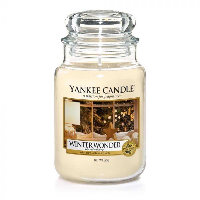 Large Winter Wonderland Yankee Candle Jar now £17.99 at Bents