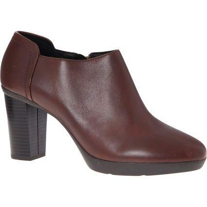 GEOX Burgundy Inspiration Leather Booties £24.99 +£1.99 c&c @ Tk Maxx,