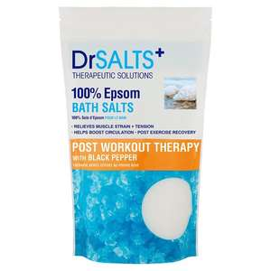 Dr Salts products now £3.50 @ Tesco - Shower Gel / Epsom Salts / Salt Scrub