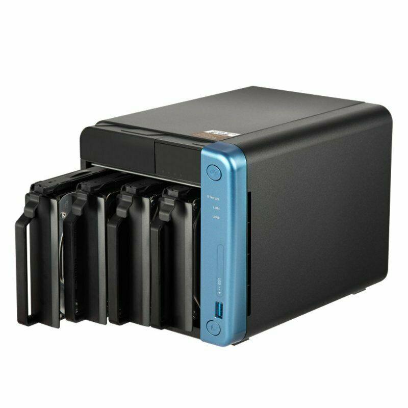 QNAP TS-453Be-4G 4 Bay Desktop NAS £387.65 @ Ebuyer / ebay