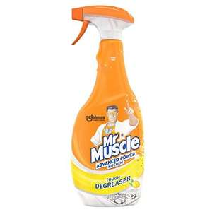 Mr Muscle Advanced kitchen cleaner 750ml £1.05 + £3.99 delivery @ Amazon Prime Now