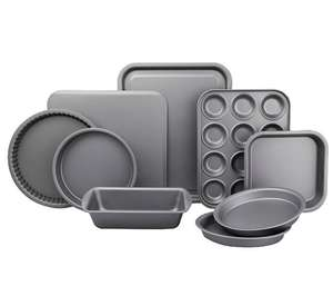 Non-stick Ultimate Baking Tray Set 9 Piece £11.90 plus 15% off selected cook and dine products @ Asda free c&c