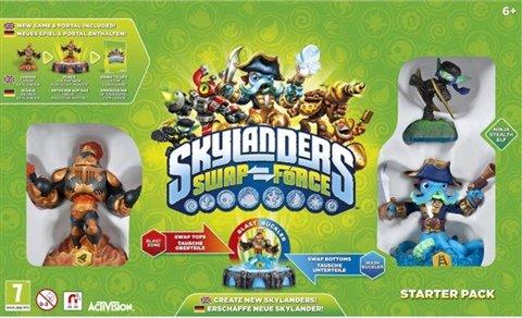 Skylanders Swap Force Starter Pack Wii 50p @ Cex