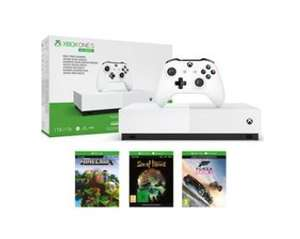 Xbox One S All Digital Edition(Includes 3 games) +6 months Game Pass+Turtle Beach Recon 70 - £179 at BT Shop