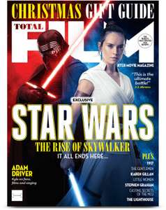 Total Film Subscription with Free Santa Yoda Funko Pop + Art Of Star Wars Guide £14.99 for 6 Months @ My Favourite Magazines