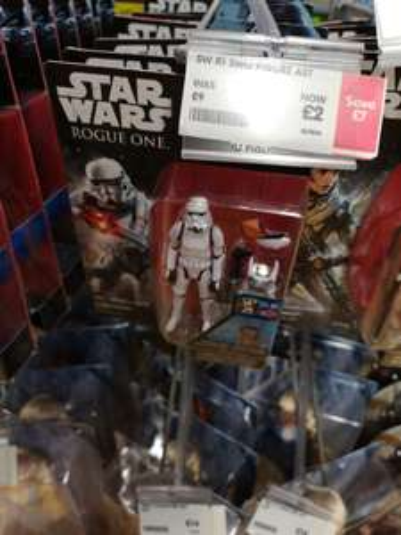 Star Wars Rogue one 3.75 inch figures £2 at Matalan Edinburgh