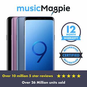 Samsung Galaxy S9 - 64GB 128GB 256GB - Unlocked EE, O2, Vodafone, Purple Refurbished Good £207.99 at musicmagpie eBay