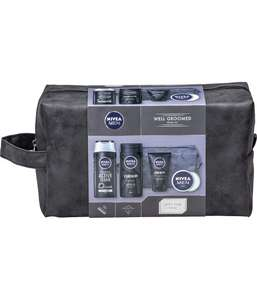 Nivia Men Well Groomed Gift Set for Him (5 Products) £7.46 at Amazon Prime / £11.95 Non Prime