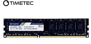 [FBA] Timetec Hynix IC 16GB Kit (2x8GB) DDR3L 1600MHz Desktop RAM memory £26.99 Sold by Timetec Inc Europe and Fulfilled by Amazon