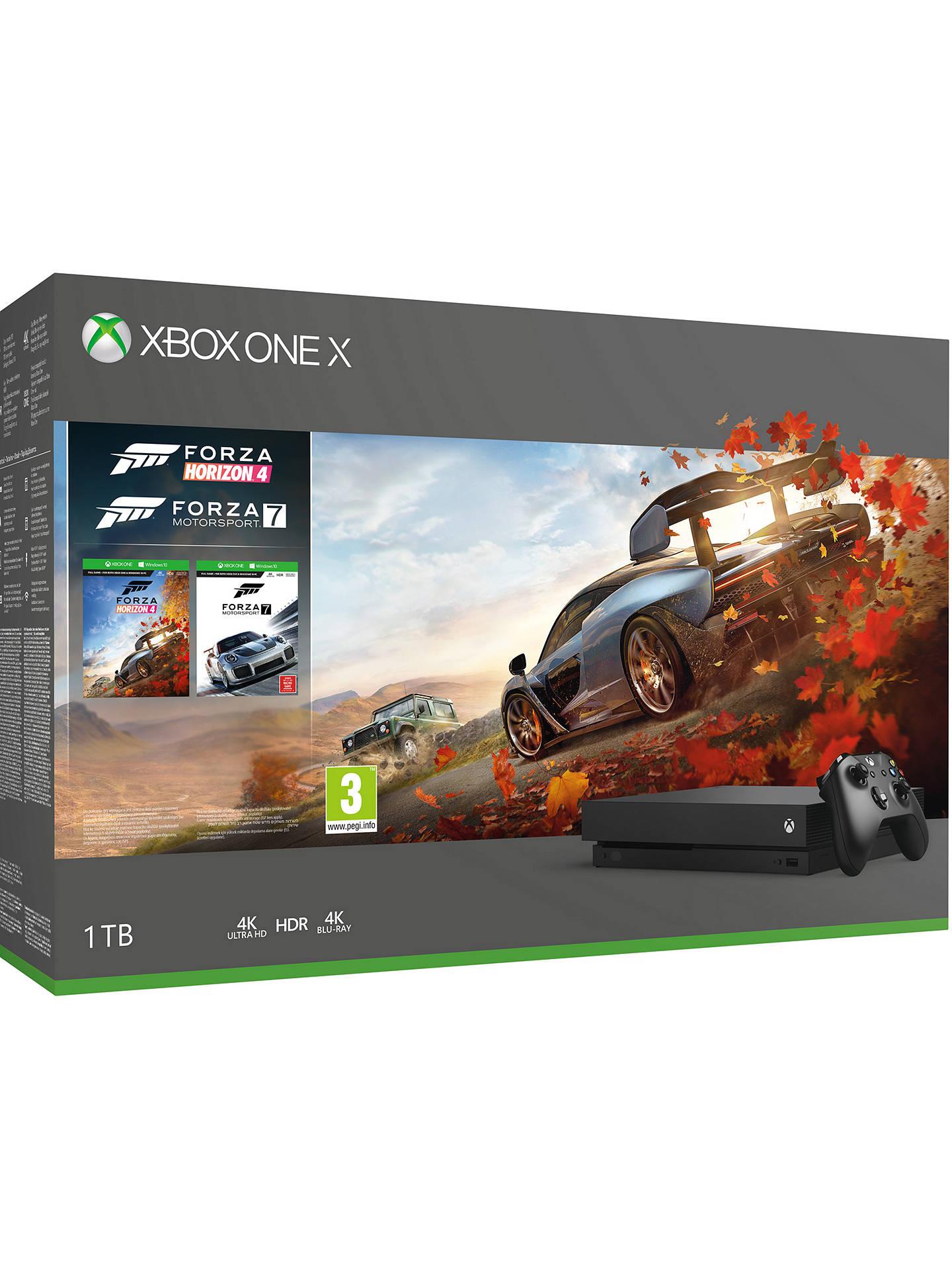Xbox One X with Forza 7 & Horizon 4 £300 Asda Lincoln