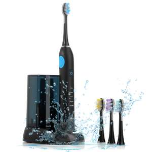 Sonic Electric Toothbrush, ISELECTOR Rechargeable Toothbrush with UV Sanitizer £21.78 Sold by BESTEK GLOBAL LTD and Fulfilled by Amazon