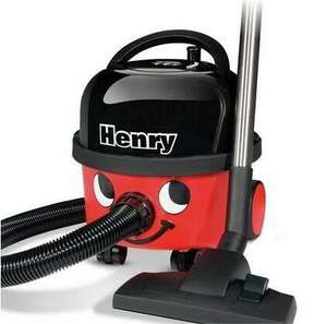 Henry Compact HVR 160 Cylinder Vacuum Cleaner £99 @ Sainsburys (in store - London) + Nectar points double up
