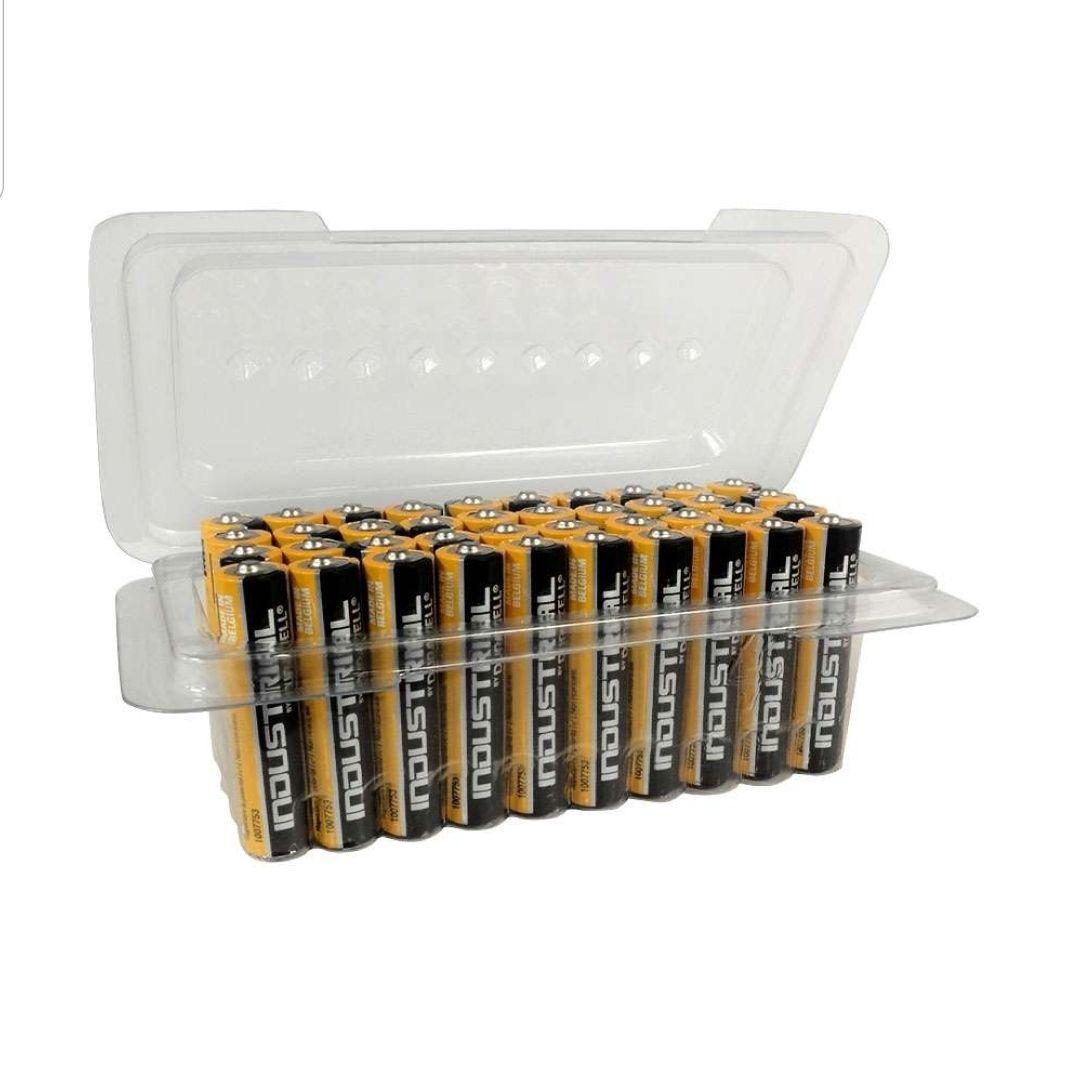 Duracell INDUSTRIAL AAA Batteries MN2400 Alkaline - Bulk 40 Pack £11.99 @ 7DayShop