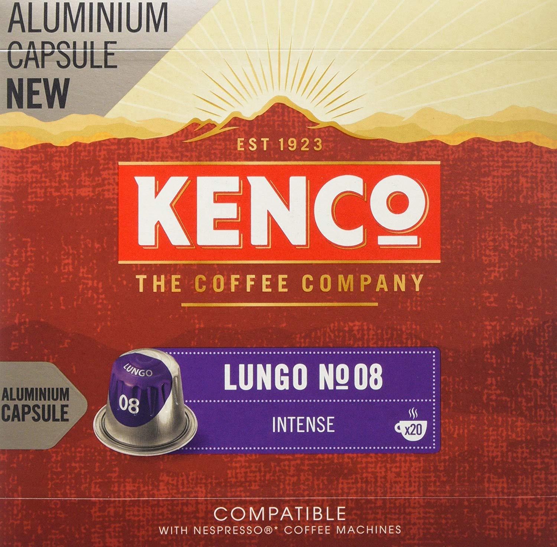 Kenco Lungo Intense Coffee Capsules, (200 Capsules) - £26.14 @ Amazon