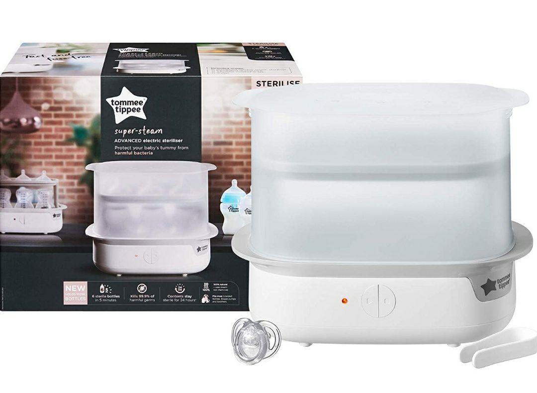 Tommee Tippee Super Steam Advanced Electric Steriliser, White - £29.49 @ Amazon