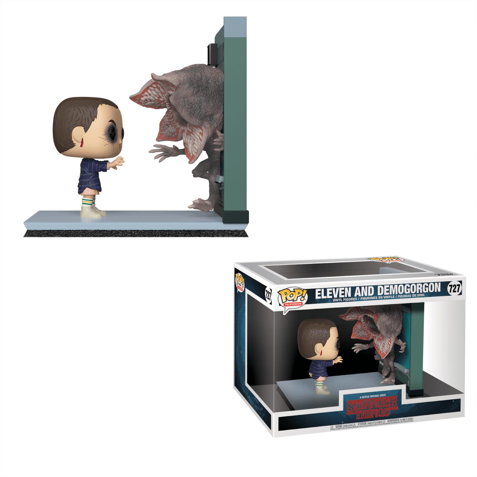 Stranger Things Eleven vs Demogorgon POP! Movie Moment - £9.48 @ Pop in a Box