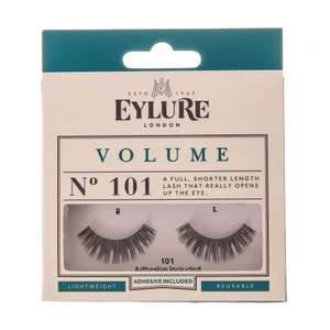 Eyelure Eyelashes buy one get one free + extra 10% Off with code @ Claire's eg; 2 Packs for £5.50 + Free click & collect