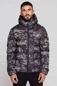 Good For Nothing Mens Romero Element Rock Camo Puffer Jacket Sizes XS – M £23.99 Delivered (With Code) @ Big Brand Outlet / eBay