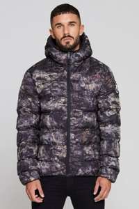 Good For Nothing Mens Romero Element Rock Camo Puffer Jacket Sizes XS - M £23.99 Delivered (With Code) @ Big Brand Outlet / eBay