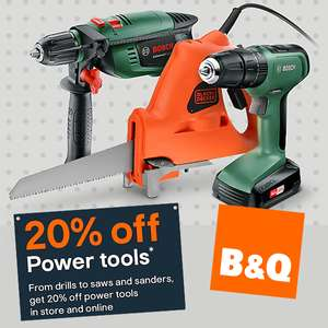 3 for 2 mix and match on Hand tools @ B&Q