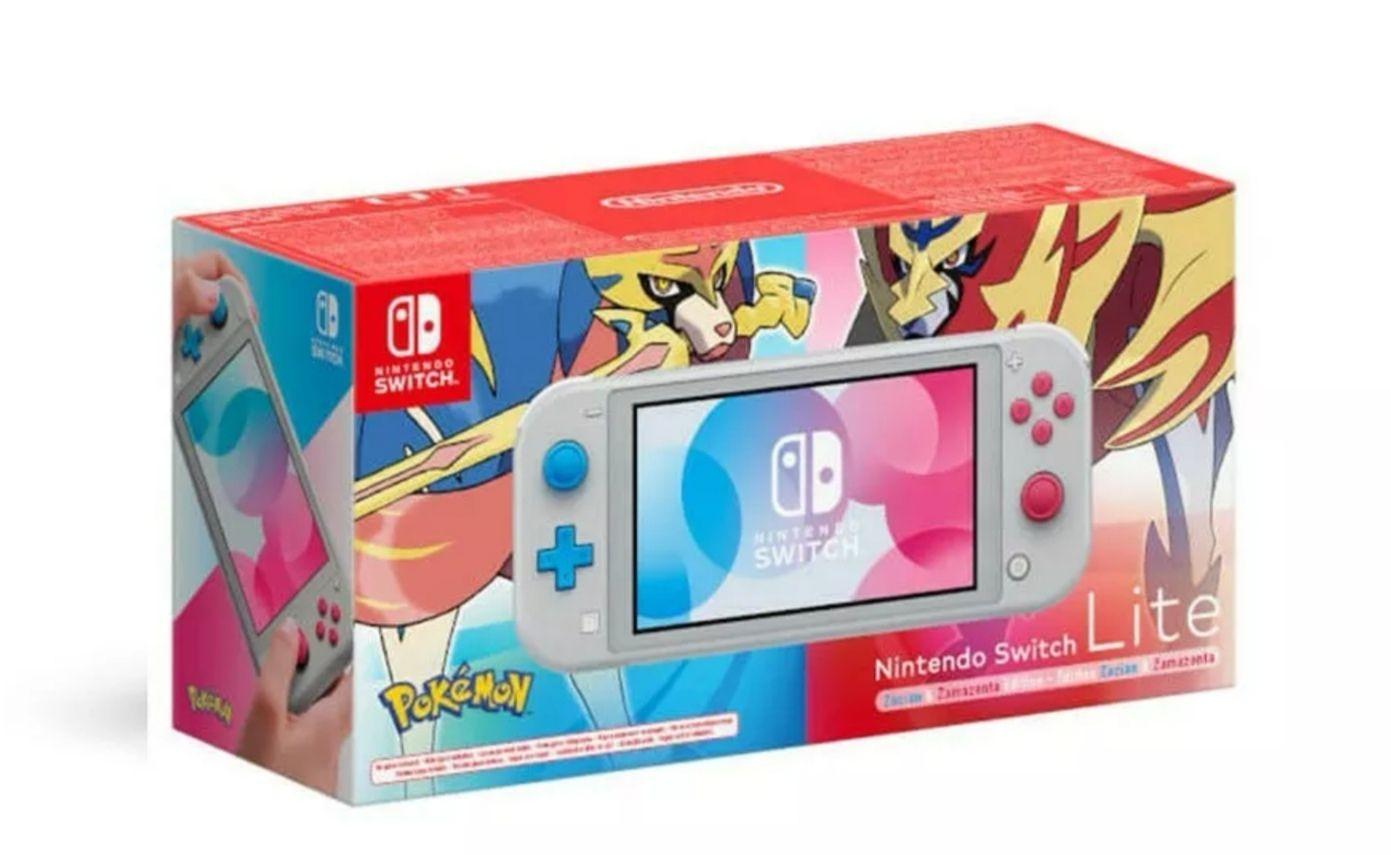 Nintendo Switch Lite: Zacian and Zamazenta Edition - £188.79 (With Code) @ eBay / ShopTo