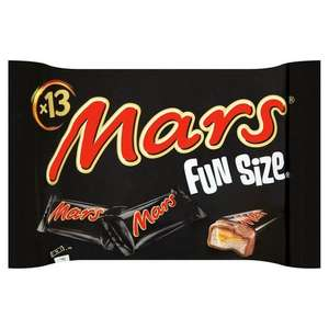 Mars Fun Size 13 Pack 250G - £1 @ Asda (Worcester) instore
