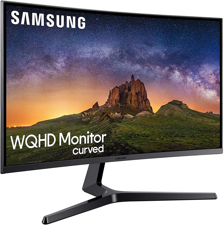 Samsung LC32JG50QQUXEN 31.4-inch WQHD Monitor - Dark Silver £269.99 @ Amazon