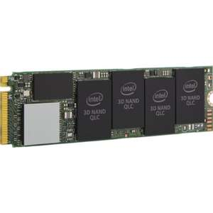 Intel 660p 1TB M.2-2280 NVMe PCIe SSD -(SSD0910) for £89.97 Delivered @ CClonline