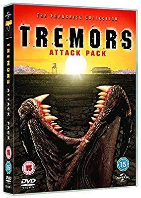 Tremors attack pack 4dvd £5.69 @ Amazon (+ non prime £2.99)