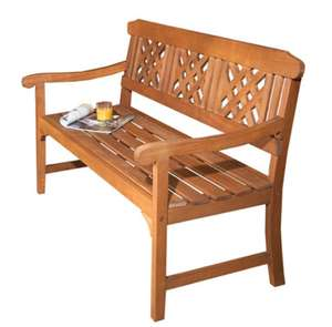 Robert Dyas FSC 3-Seater Garden Fence Bench - £59.99 was £74.99 - Free Delivery With Code at Robert Dyas