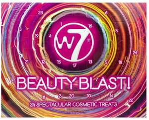 W7 Beauty Blast Cosmetics Makeup Advent Calendar only £9.98 + £4.49 delivery Non Prime @ Amazon