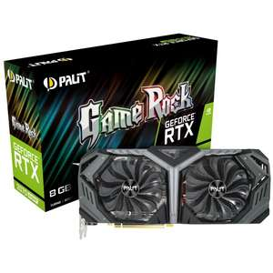 Palit RTX 2070 SUPER GAME ROCK - £459.89 Inc Postage & Packaging @ Overclockers
