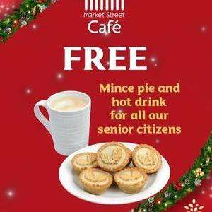 Free Mince pie and hot drink for OAPs in Morrisons cafes