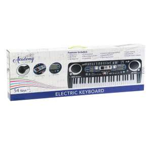 Robert Dyas Kids Piano Electric Keyboard with Microphone. Free click and collect