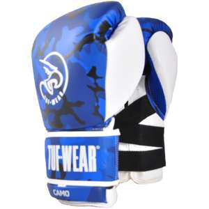 TUF WEAR Camo Leather Boxing Training Gloves at Spenny Moor Sports for £64.94 delivered
