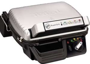 Tefal GC450B27 Super Grill 2-in-1, (6 Portions),0 4 Settings Including Searing, Stainless Steel £65 at Amazon