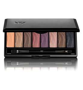 No7 Stay Perfect Eye Shadow Palette Smoky - 3 x palette for £20 at Boots Shop