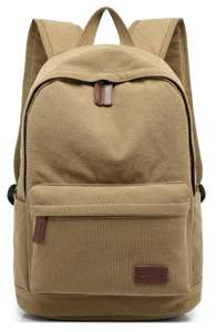 KAYOND Casual Style Lightweight canvas Laptop Bag / Backpack £8.15 Sold by canvas world and Fulfilled by Amazon Prime / £12.64 Non Prime