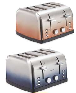 Ambiano 4 Slice Ombre Toaster + 3 Year Warranty - £19.99 @ Aldi (instore or £2.99 delivery)