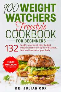 900 Weight Watchers Freestyle Cookbook for Beginners free at Amazon Kindle
